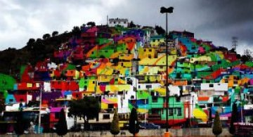 Curcubeu mural: Un proiect de unire a oamenilor prin culoare