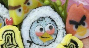 Arta cu sushi: Cele mai haioase imbucaturi cu specific japonez