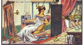Lumea anilor 2000 ilustrata in secolul al XIX-lea