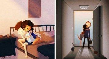 Dragostea adevarata, in 10 imagini haioase