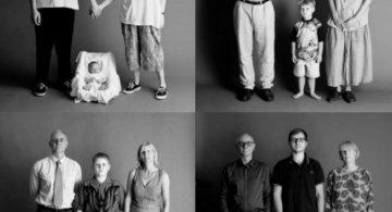Calatorie in timp: Aceeasi familie, acelasi decor, oameni schimbati