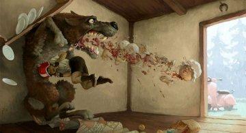 Ilustratiile controversate al unui artist rus