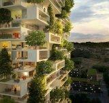 Turnul cedrilor: O padure verticala locuibila, in mijlocul orasului