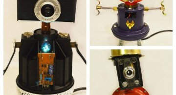 Cei mai simpatici roboti facuti din resturi