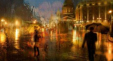 Frumusetea ploii din Rusia, in poze de colectie