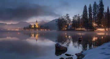 Dimineti de poveste din Slovenia, in poze mirifice