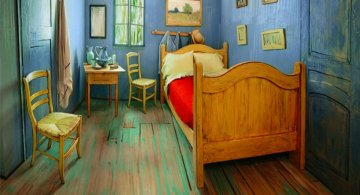 O noapte in dormitorul lui Van Gogh