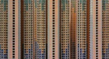 Densitatea arhitecturala din Hong Kong