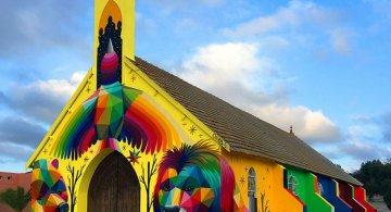 Lacasul de cult multicolor din Morocco