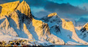 Un strop din frumusetea Norvegiei, in poze uluitoare