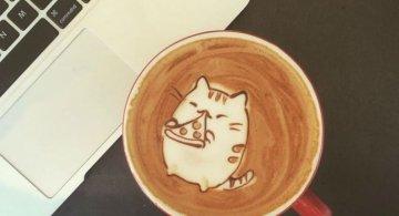 Bauturi pe baza de cafea frumos decorate