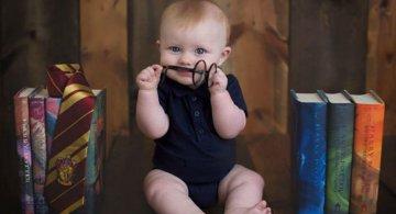 Harry Potter si cel mai fericit bebelus din lume