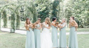 Cum arata imaginile de la nunta unui cuplu iubitor de animale?