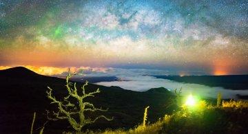Lumina noptii: Un dans al Caii Lactee, in miezul verii