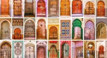 Usile multicolore ale Marocului
