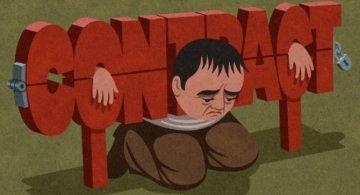 Drama omului controlat, in ilustratii satirice