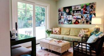 Amintiri decorative: Idei de readucere la viata a fotografiilor vechi