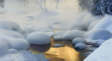 Cele mai frumoase peisaje de iarna