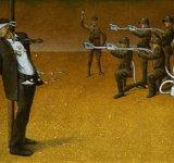 Haosul lumii in care traim, in ilustratii satirice