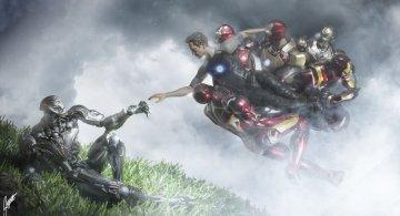 Istoria artei cu supereroi Marvel