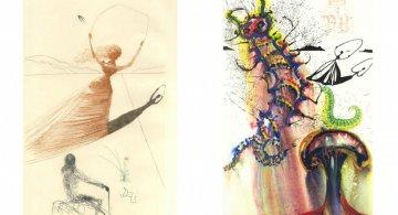 Alice in Tara Minunnilor, prin ochii lui Dali