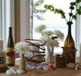 Sticle transformate in vaze superbe