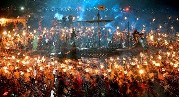 Festivalul legendar al vikingilor, in fotografii epice