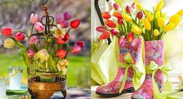 Aranjamente florare superbe pentru intampinarea primaverii