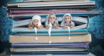 Noile aventuri ale surorilor Wilhelm, in poze haioase