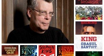 Top 10 Cele mai bune carti scrise de Stephen King