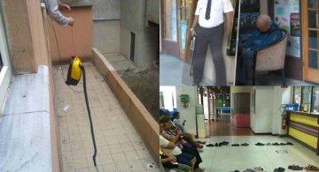 Solutii geniale ale oamenilor lenesi, in imagini amuzante