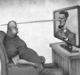 Problemele societatii actuale, in ilustratii deranjant de sincere