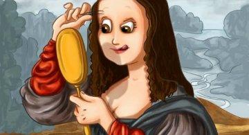 Detaliile ascunse ale picturilor celebre, in ilustratii haioase