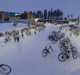 Cu bicicleta, la -17 grade Celsius. Copii din Finlanda dau tuturor o lectie demna de urmat