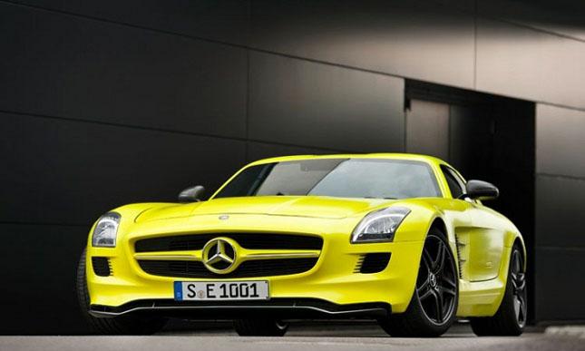 Prototipul Mercedes-Benz SLS AMG E-Cell - Poza 1