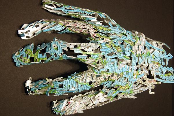 22 de sculpturi impresionante in carti - Poza 1