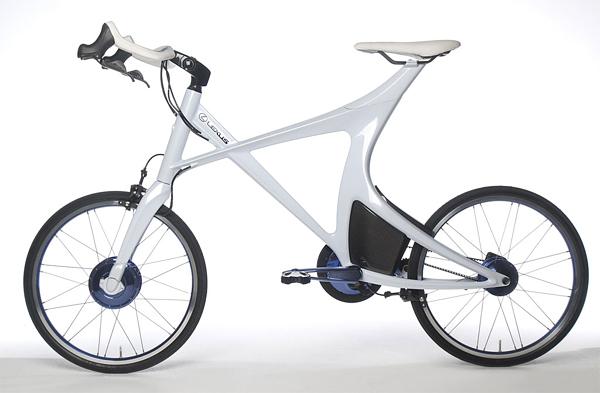 Superba bicicleta hibrid de la Lexus - Poza 1