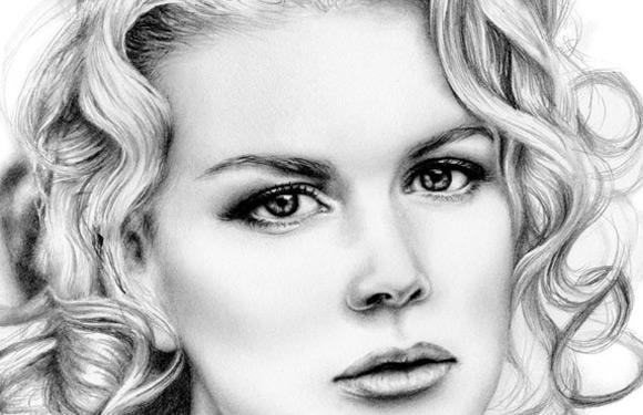 Celebritati: 40 de portrete excelente in creion - Poza 2
