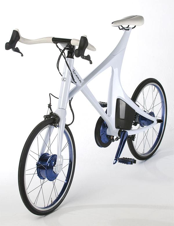 Superba bicicleta hibrid de la Lexus - Poza 3