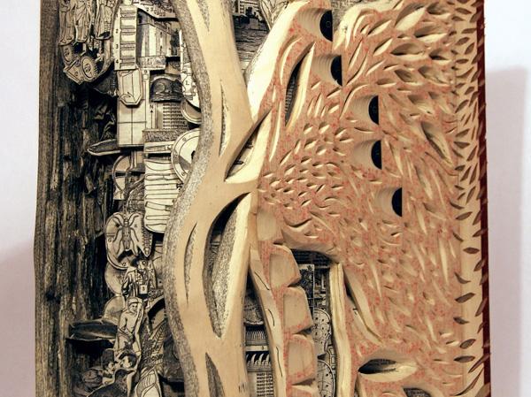 22 de sculpturi impresionante in carti - Poza 6