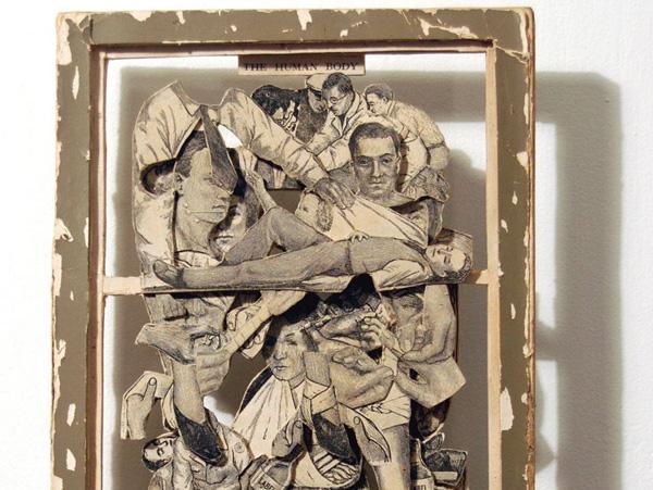 22 de sculpturi impresionante in carti - Poza 7
