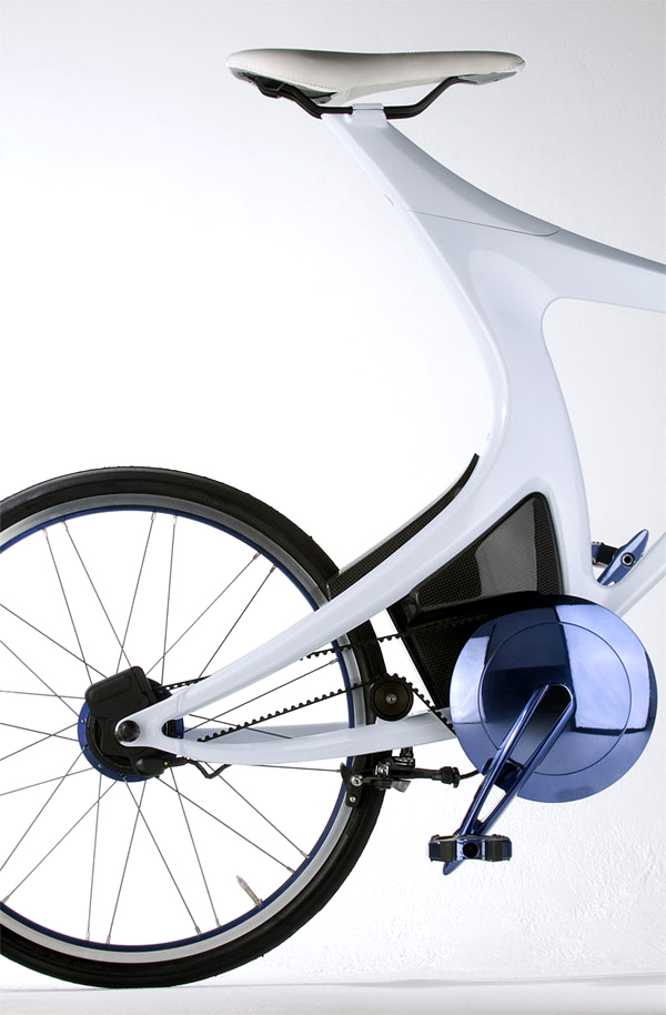 Superba bicicleta hibrid de la Lexus - Poza 7