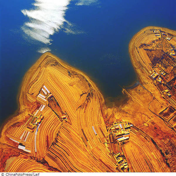 Splendoarea Chinei vazute de sus