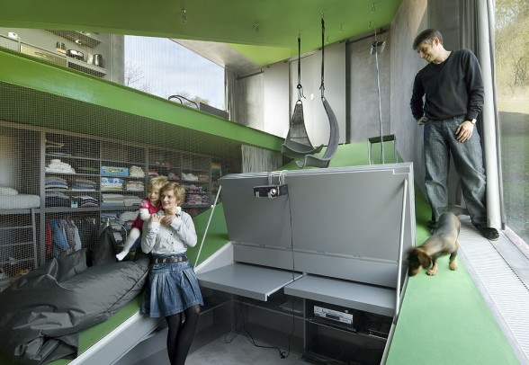 Sepka Architekti: Pink House - Poza 9