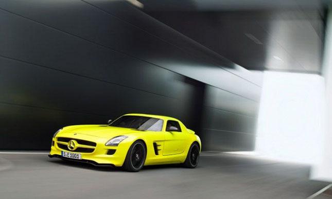 Prototipul Mercedes-Benz SLS AMG E-Cell - Poza 2