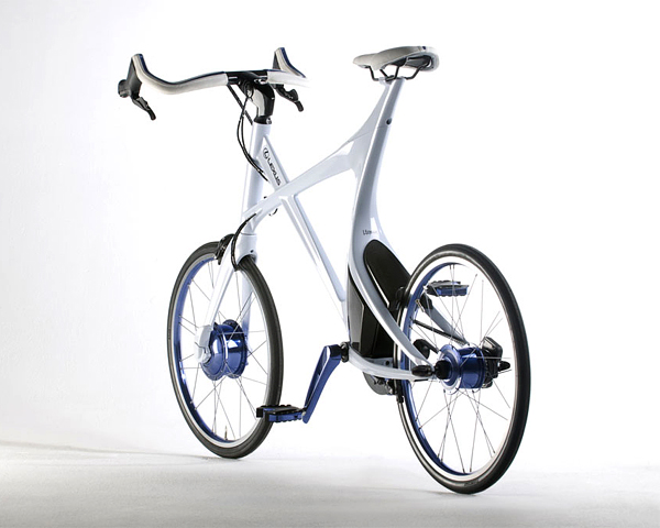 Superba bicicleta hibrid de la Lexus - Poza 9