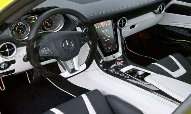 Prototipul Mercedes-Benz SLS AMG E-Cell - Poza 11