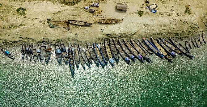 Frumuseta Bangladeshului, prin ochii unui aviator - Poza 13