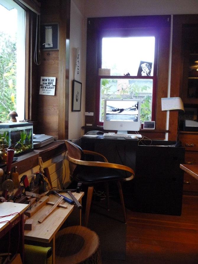 Spatii de lucru concepute pentru artisti - Poza 4