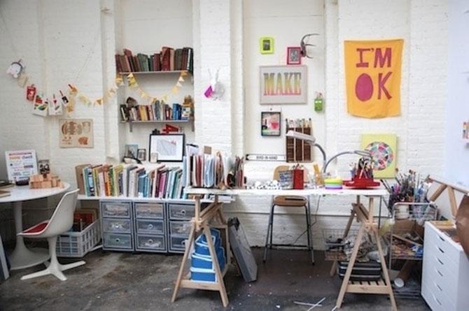 Spatii de lucru concepute pentru artistli